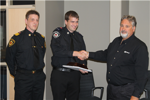 Firefighter Steven Gillis-Save a Life Recognition