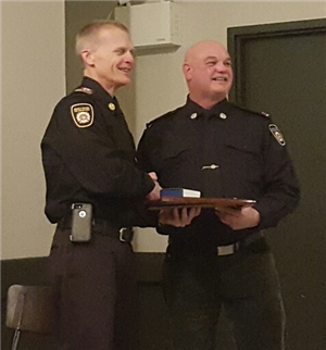 Firefighter Gerry How Service Excellence Award