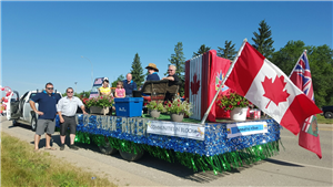 Town of Swan River Parade Float 2017