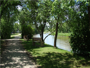 Legion Park Walking Trail